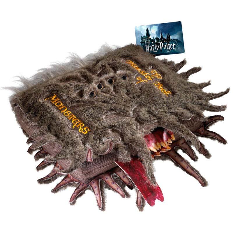 Peluche Libro De Los Monstruos Harry Potter
