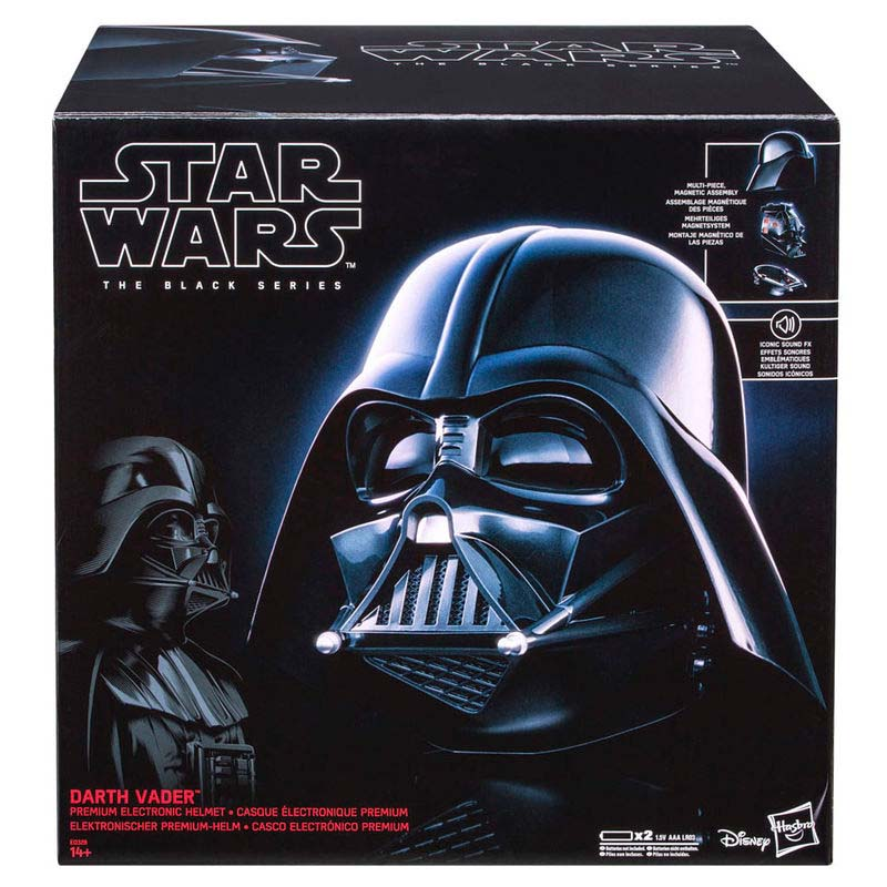 Casco Electronico Premium Darth Vader Star Wars