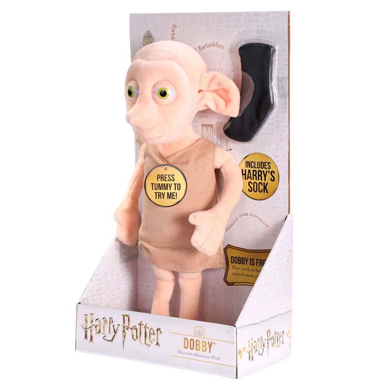 Peluche Interactivo Dobby Harry Potter