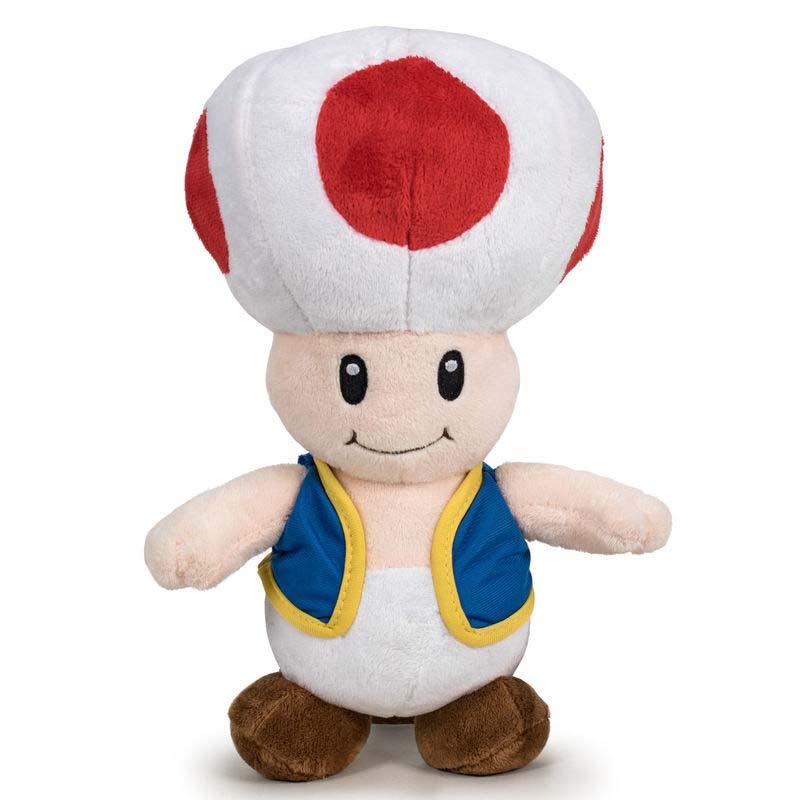 Peluche Toad Super Mario Bros Nintendo
