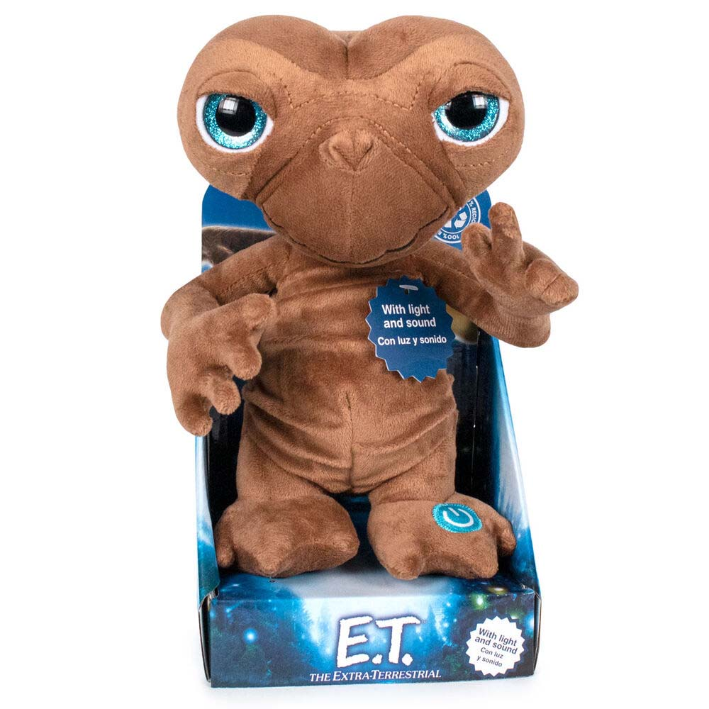 Peluche E.T Con Luz Y Sonido