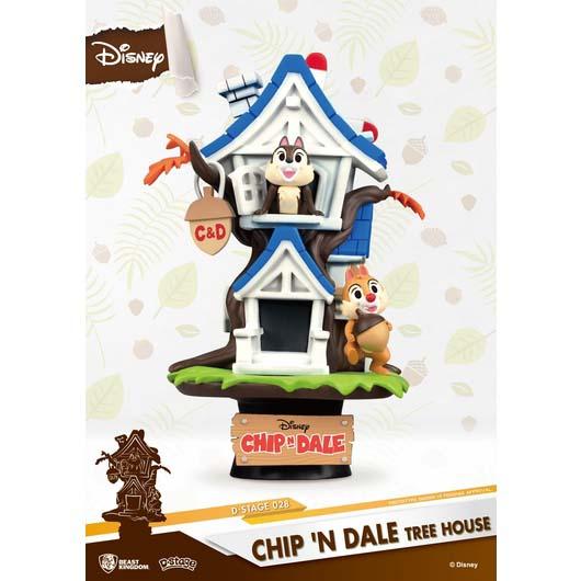Figura Diorama Disney Chip Y Chop
