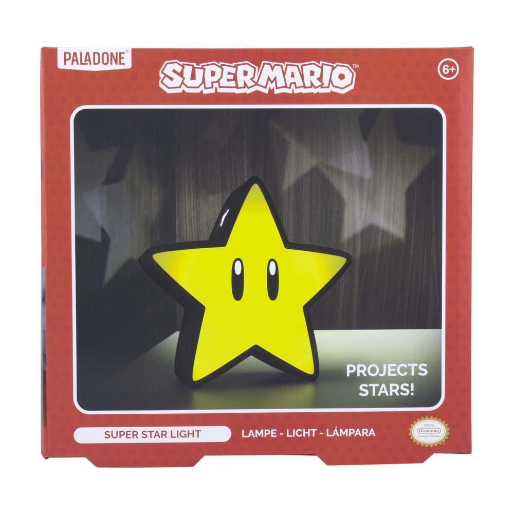 Lampara Super Mario Bros Super Star