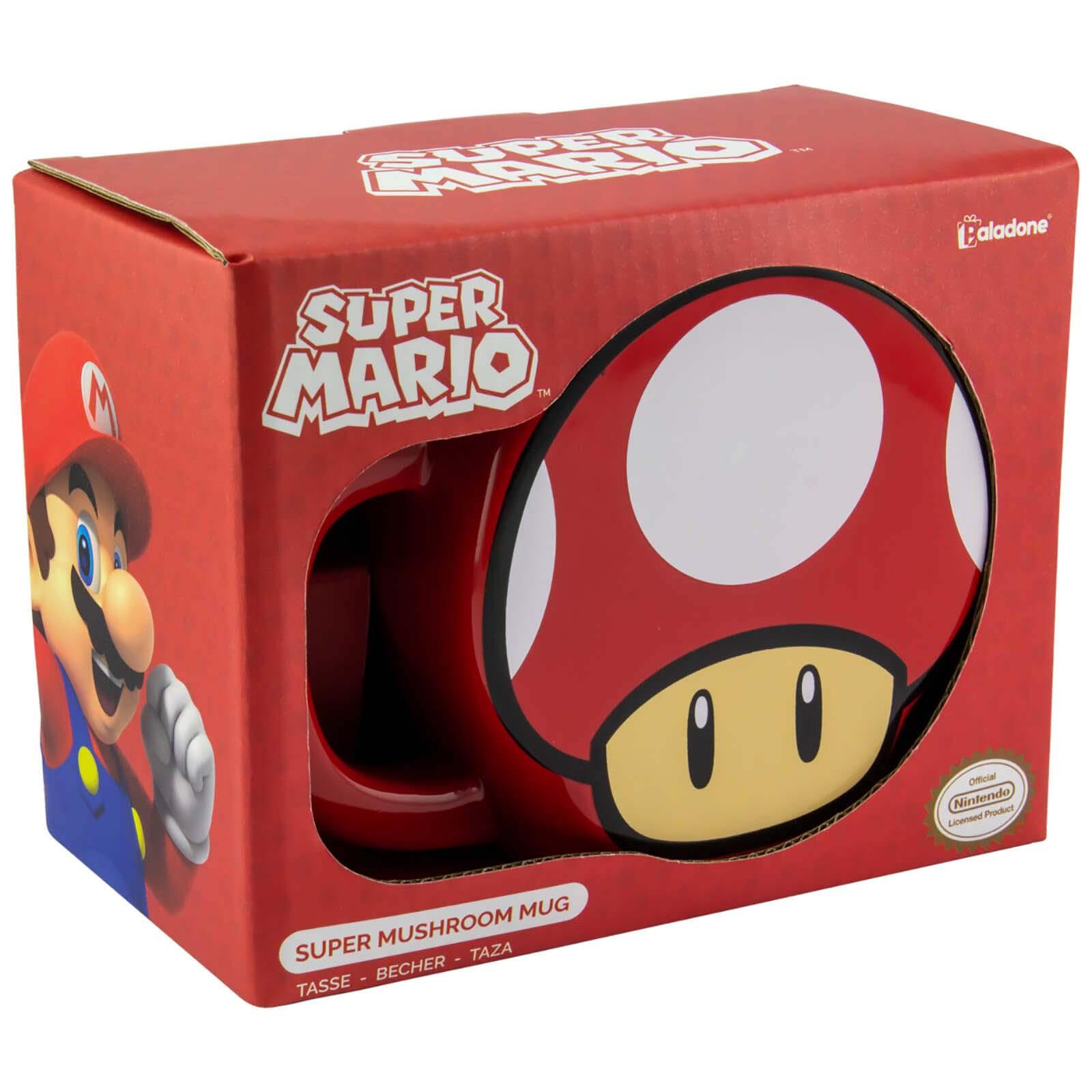 Taza 3D Super Mario Bros Super Setas