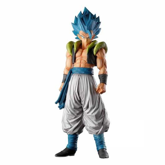 Figura Dragon Ball Gogeta The Brush Super Saiyan Blue