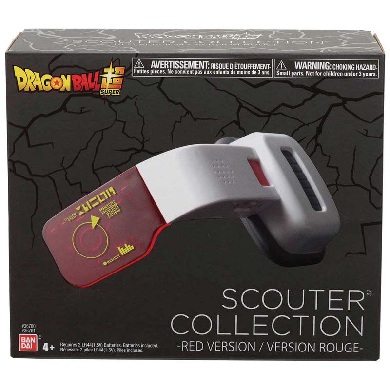 Scouter Dragon Ball Roja