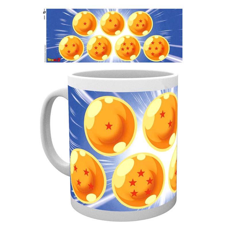 Taza Dragon Ball Bolas Estrellas