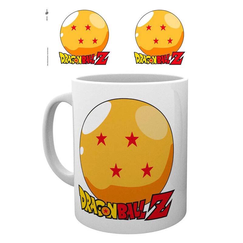 Taza Dragon Ball Bola 4 Estrellas