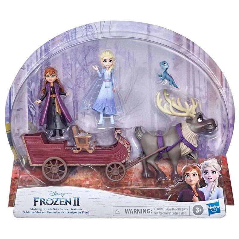 Set Figuras Aventuras En Trineo Frozen 2 Disney
