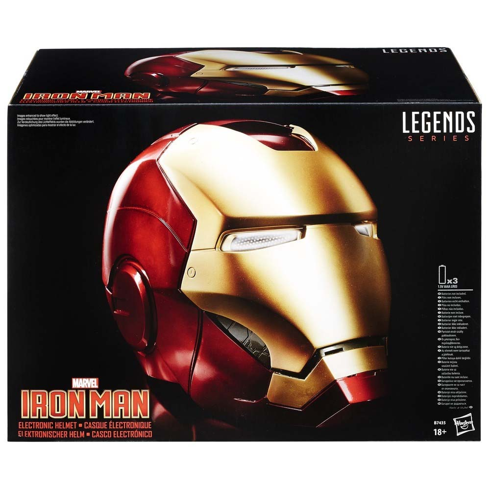 Casco Electronico Marvel Iron Man