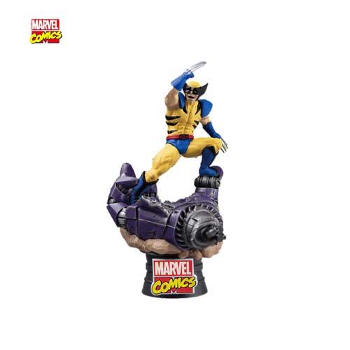 Figura Diorama Marvel Lobezno Centinel