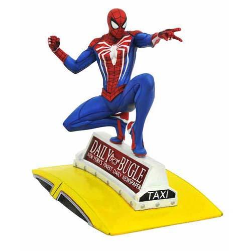 Figura Spider-Man En Taxi Video Game Gallery Marvel