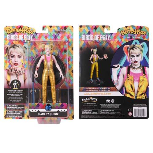 Figura Bendyfigs Harley Quinn Dc Comic