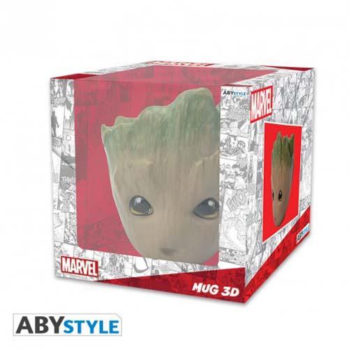 Taza 3D Marvel Groot