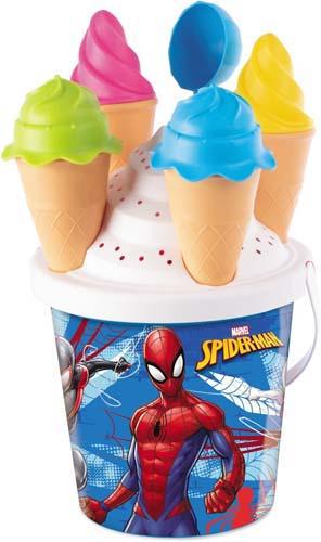 Cubo De Playa Spiderman Moldes