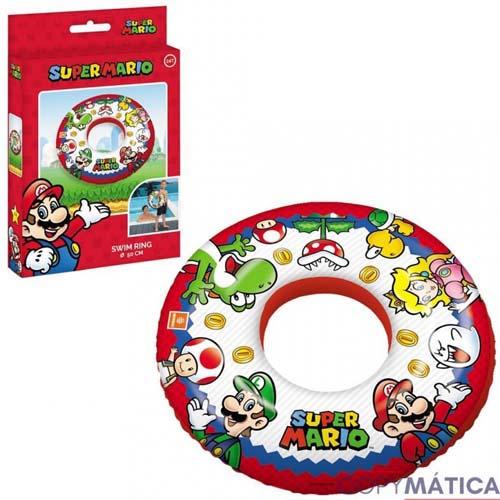 Flotador Redondo Super Mario Bros Nintendo