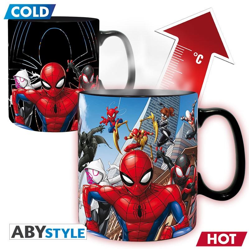 Taza Termica Spiderman Marvel