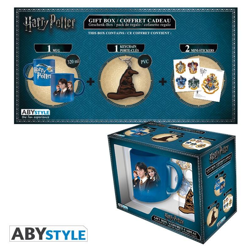 Pack Harry Potter Taza + Llavero + Sticker