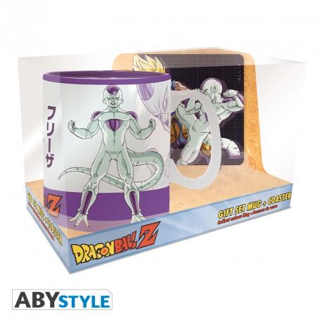 Pack Dragon Ball Goku Vs Frieza Taza + Posavasos