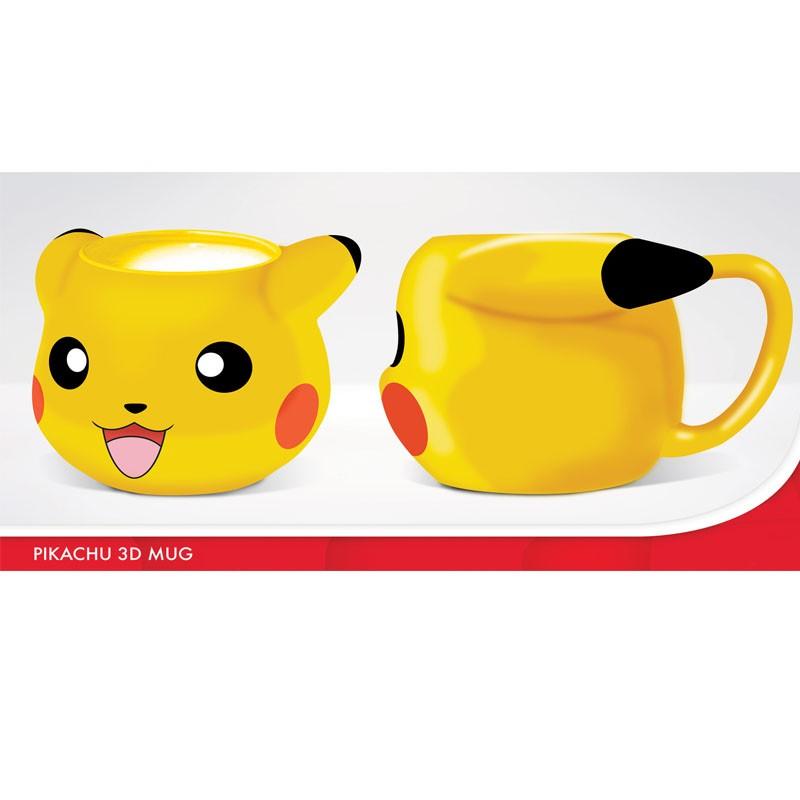 Taza 3D Pokemon Pikachu