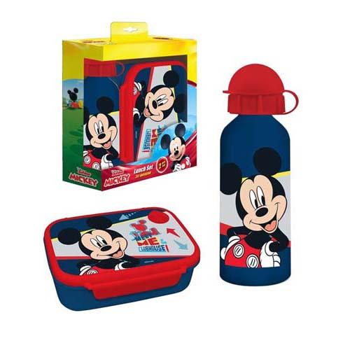 Pack Sandwichera Y Botella Mickey Mouse 02