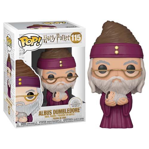 Funko Pop Harry Potter 115 Albus Dumbledore Con Harry