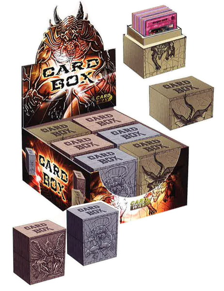 Display Deck Box Dragons Heavy Solid Deluxe (6)