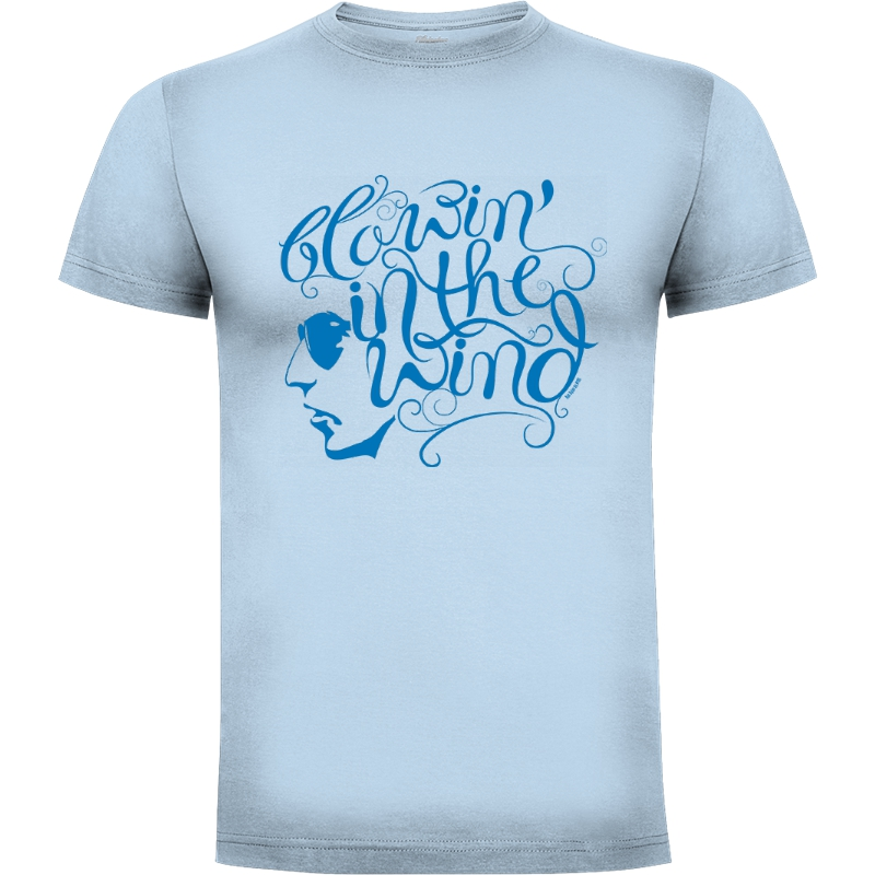 Camiseta Blowin in the wind   Bod Dylan (por Nyro)