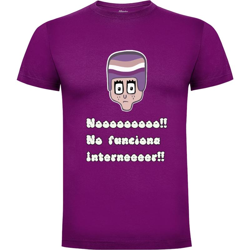 Camiseta Enjuto Internet
