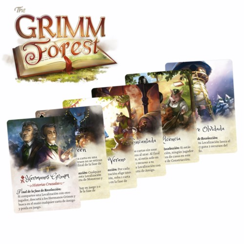 Grimm Forest - Set Cartas Promos (Castellano)