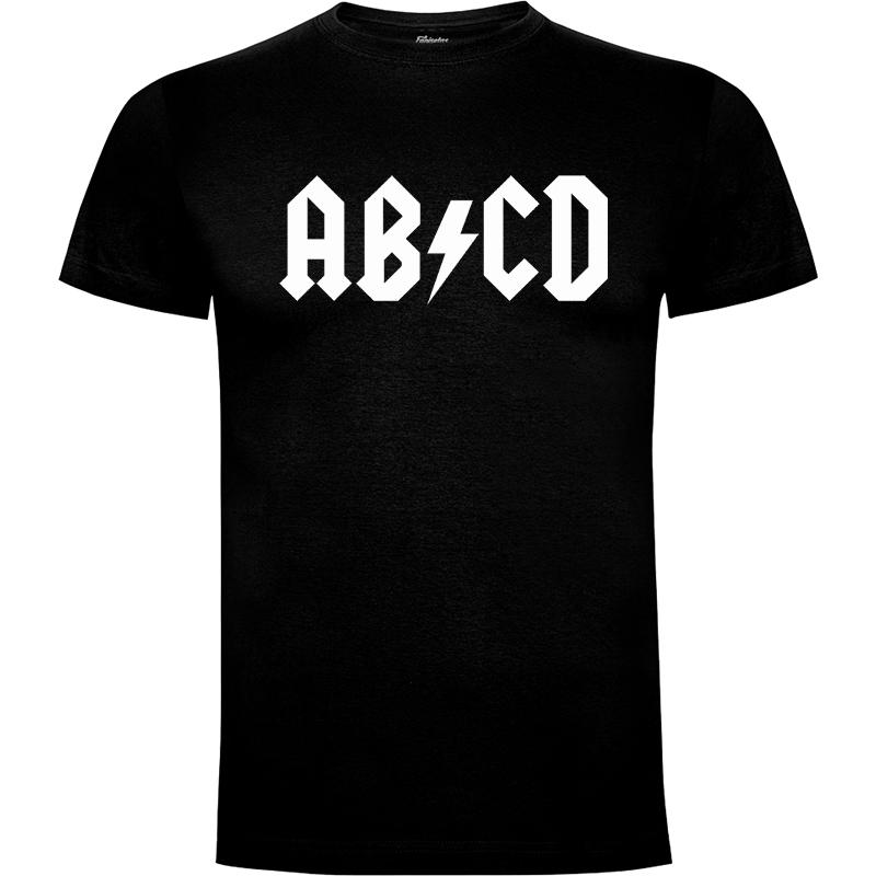 Camiseta AB/CD