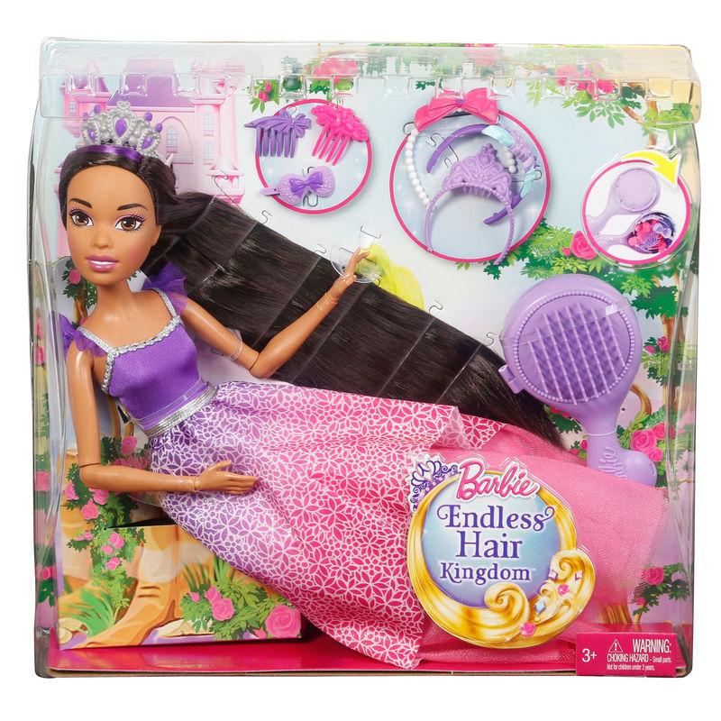 Barbie Peinados Magicos 43cm