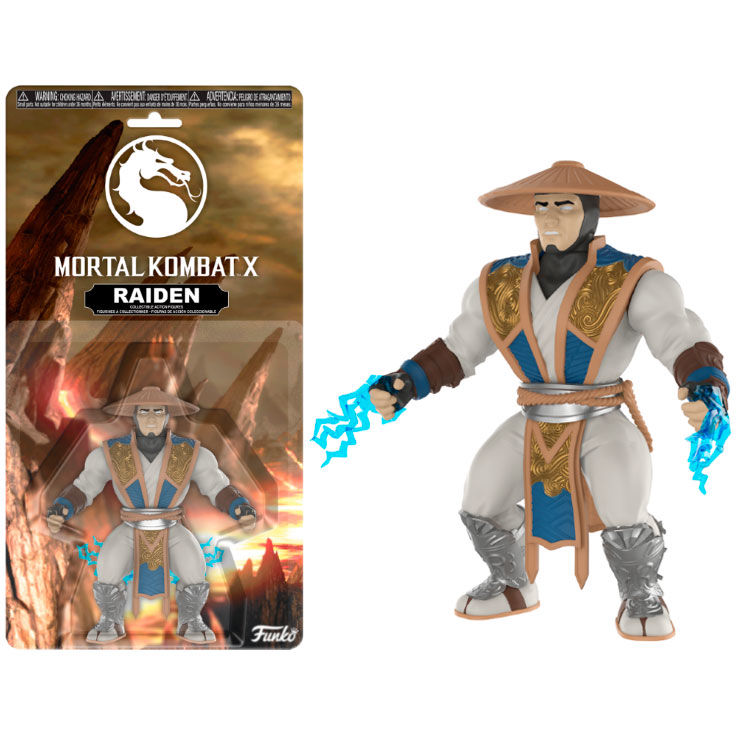 Action figure Mortal Kombat Raiden
