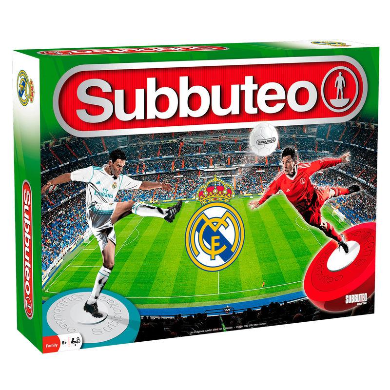 Juego Subbuteo Real Madrid Playset 3ª Edicion