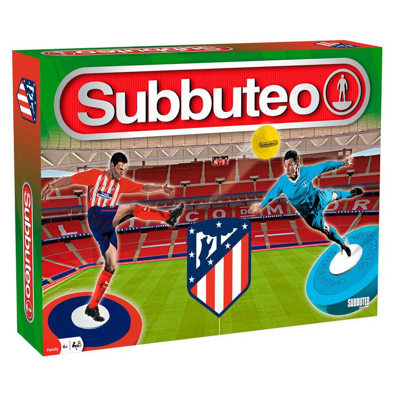 Juego Subbuteo Atletico de Madrid 2ª Edicion Playset