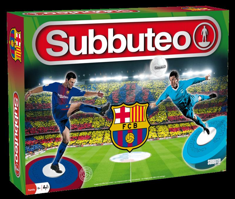 Juego Subbuteo FC Barcelona 4ª Edicion Playset