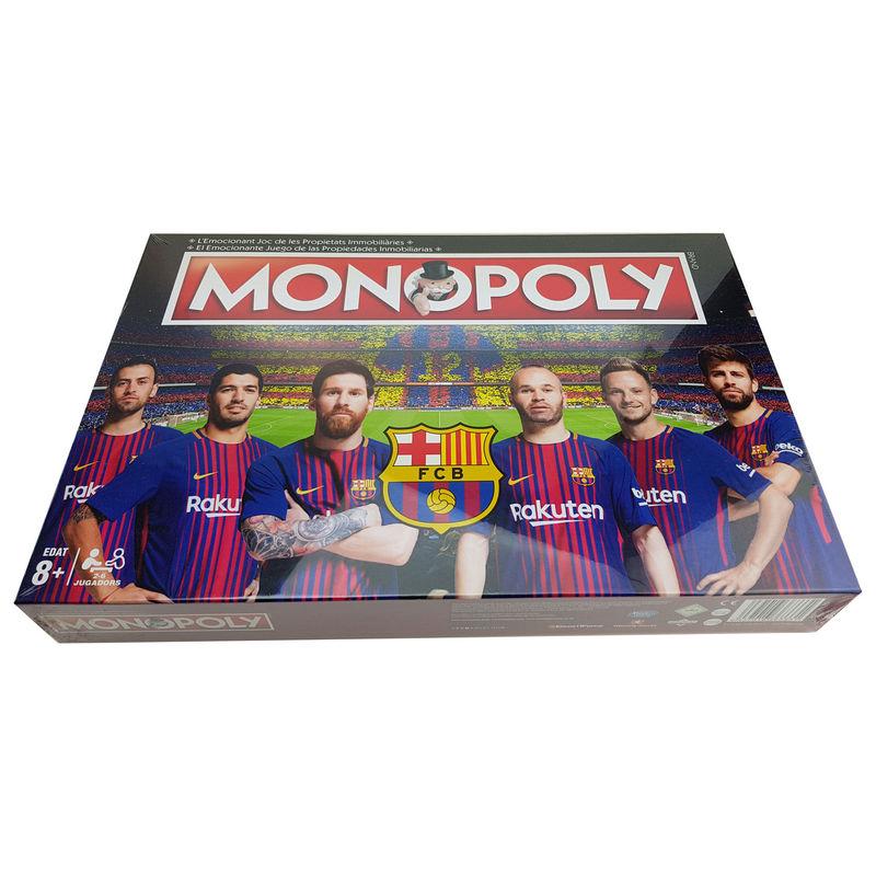 Juego monopoly FC Barcelona 3ª Edicion