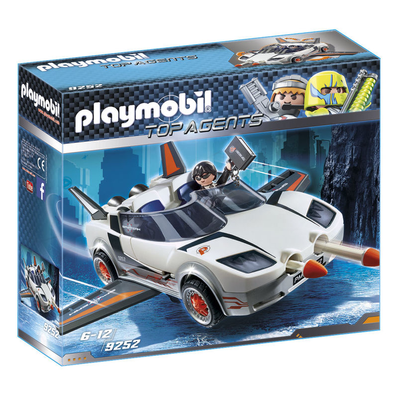 Agente Secreto y Racer Playmobil Top Agents
