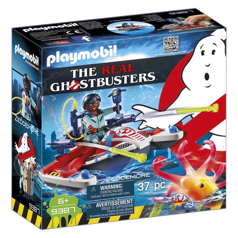 Zeddemore con Moto de Agua Cazafantasmas Ghostbusters Playmobil