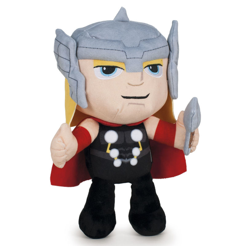 Peluche Thor Vengadores Avengers Marvel velboa 30cm