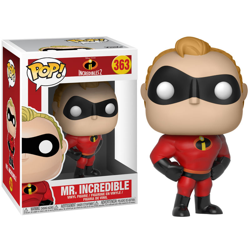 Figura POP Disney Los Increibles 2 Mr Incredible