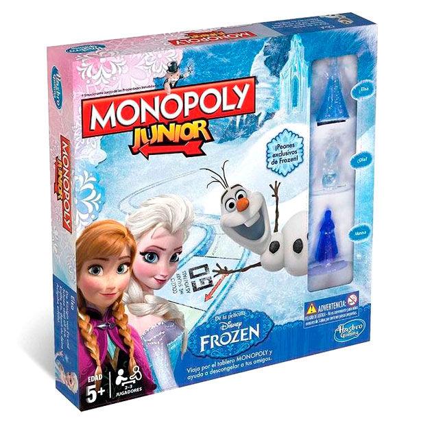 Juego Monopoly Frozen Disney Junior