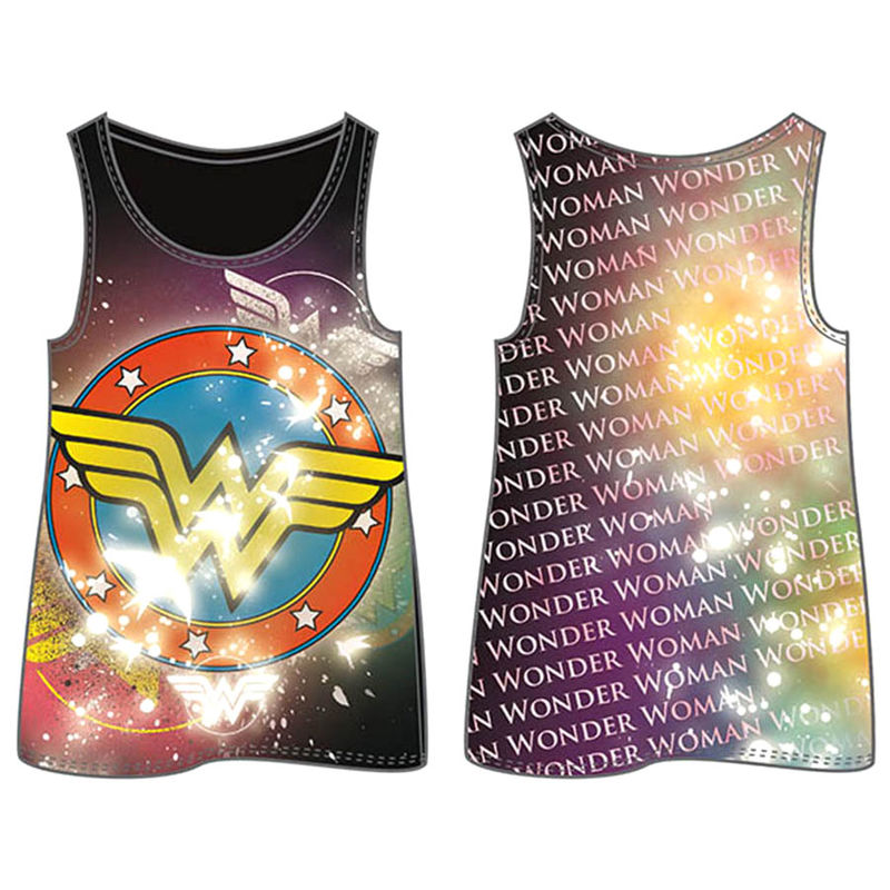 Camiseta Logo Wonder Woman DC Comics mujer adulto