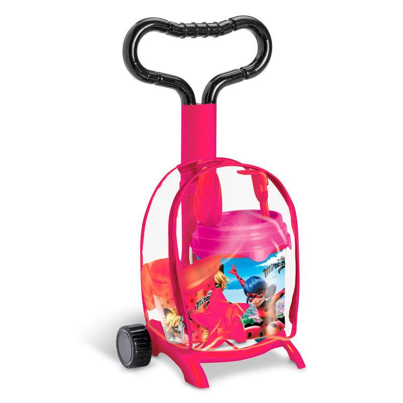 Trolley juego playa Prodigiosa Ladybug