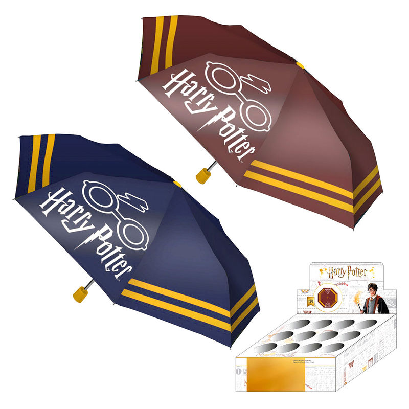 Paraguas manual plegable Harry Potter surtido
