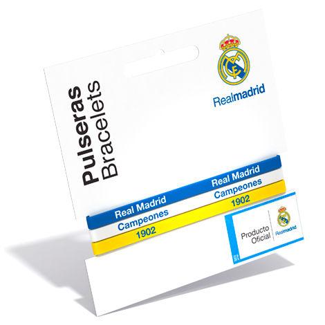 Pulsera classic Real Madrid tricolor