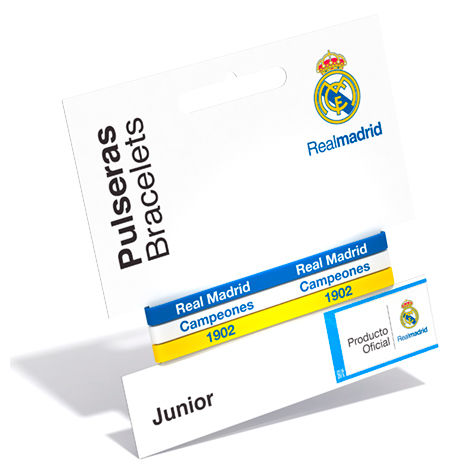 Pulsera classic Real Madrid tricolor junior
