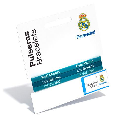 Pulsera classic Real Madrid turquesa