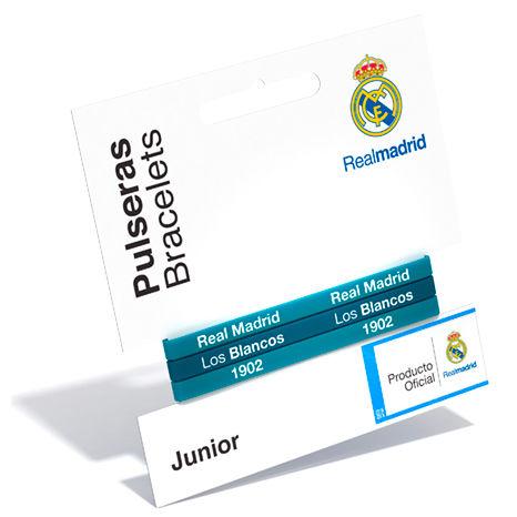 Pulsera classic Real Madrid turquesa junior