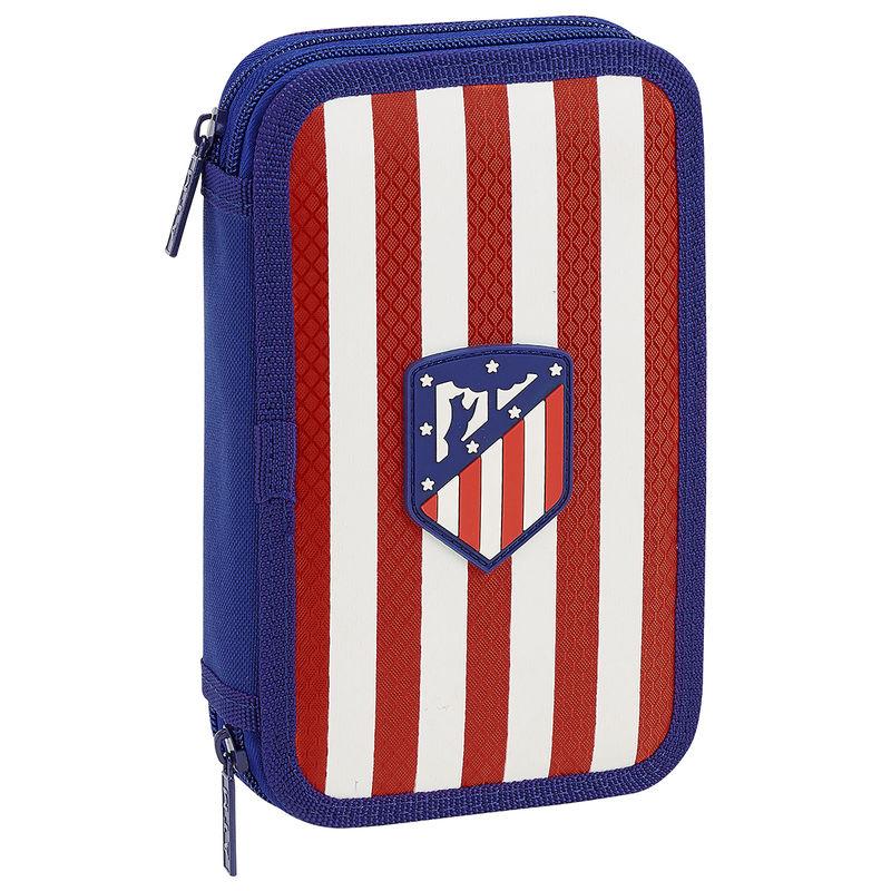 Plumier Atletico Madrid doble 28pzs